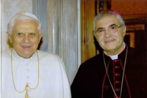 Benedetto XVI e Mons.Miccichè